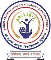 Shri Krishna Ayush University Logo